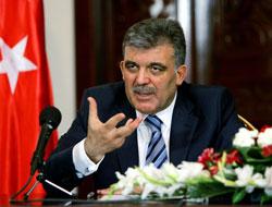 Gül'den Hükümete 'Mayın' Desteği