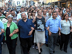 """Hrant Dink için """"vicdan zinciri"""""""
