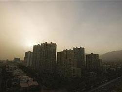 Tahran'da 30 yılın en yoğun hava kirliliği