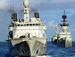 İsrail Gemileri Kızıldeniz'de!