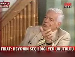 AKP'li Fırat'tan önemli Sözler