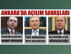 Ankara'da 'Kürt açılımı' polemiği