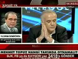 """Şok cümleler; """"Sen ufak Ahmet Çakar'la çık"""""""