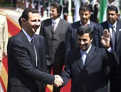 Ahmedinecad ve Esad'dan sert mesajlar