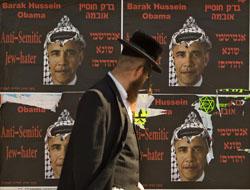 Obama'yı Yahudi düşmanı ilan ettiler!