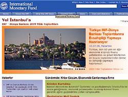 IMF'den Türkçe web sitesi