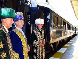 Zenginler treni 'Orient Express' Türkiye'de