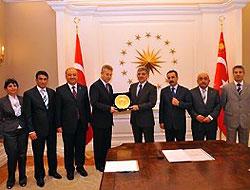 Cumhurbaşkanı Gül, Tunceli heyetini kabul etti