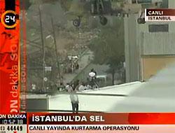 Flaş! İstanbul'daki sel can aldı