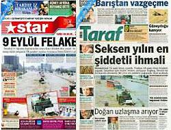 Star ve Taraf, Zaman'ın matbaasında basıldı