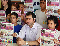 Çocuklar Kürtçe gazete çıkardı