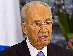 İsrail lideri Peres toplantıda bayıldı