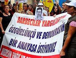 12 Eylül protesto edildi