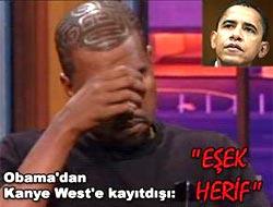 """Obama'dan West'e kayıtdışı yorum: """"Eşek herif"""""""
