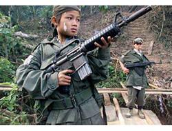 Dünyada 250 Bin Çocuk Asker Var