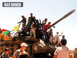 Flaş YPG bir tankı ele geçirdi