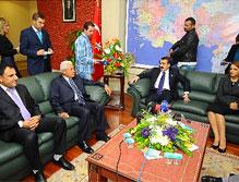 DTP heyetinden AK Parti'ye bayram ziyareti