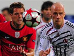 Beşiktaş Moskova'da umut maçında