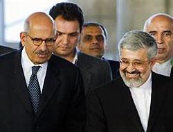 Atom Enerjisi Kurumu Başkanı Baradey İran'da...