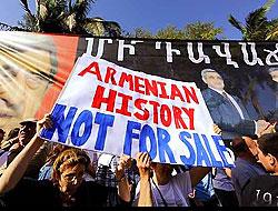 Sarkisyan ABD'de de protesto ediliyor