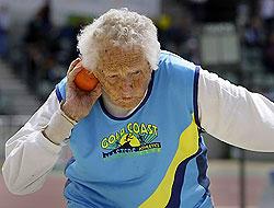 100 yaşındaki kadından inanılmaz rekor!