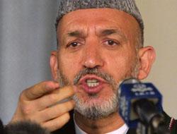 Batı'yla arası açılan Karzai'den garip iddia