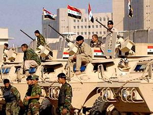 Bağdat: Herhangi bir saldırı söz konusu değil