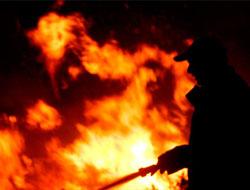 Heybeliada Sanatoryumu'nda yangın