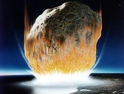 4.6 milyar yıllık meteor otomobile çarptı!..