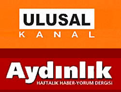 Ulusal Kanal ve Aydınlık'ta arama