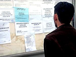 Temmuz dönemi işsizlik rakamları açıklandı