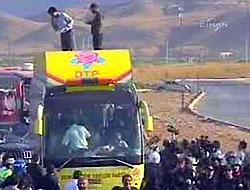 34 PKK'liyi onbinler karşıladı