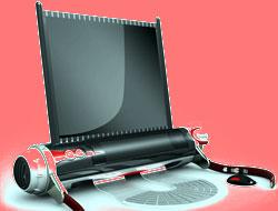 Katlanabilen rulo laptop!