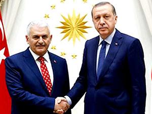 Erdoğan ve Yıldırım görüşmesi sona erdi