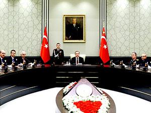 MGK'da gündem Afrin