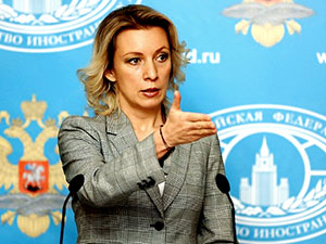 Zaharova: Kürtler söz sahibi olmalı