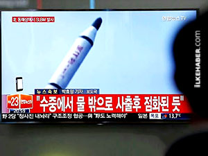 Kuzey Kore'den kısa menzilli füze denemesi
