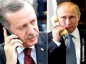 Erdoğan'dan Putin'e 'Halep' telefonu