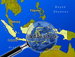 Endonezya 7,3'le Sallandı