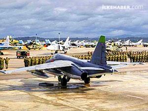 Rus basını: Suriye'deki Üs saldırısında yedi Rus uçağı imha edildi