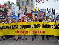 İsrail'in Aksa'ya saldırısı İstanbul'da kınandı