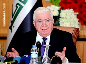 Irak Cumhurbaşkanı: Peşmerge dışındakiler Şengal'den çekilsin