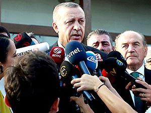 Erdoğan: ABD'deki gelişmeler iyi gelişmeler değil