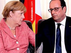 """Almanya ve Fransa'dan """"Nazi"""" tepkisi"""