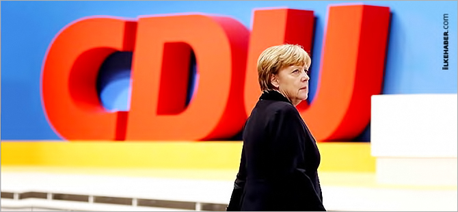 Almanya Başbakanı Merkel'e eyalet seçimi morali