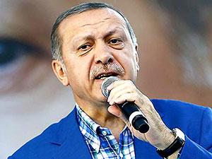 Erdoğan: 'Kerkük'teki bayraklarınızı hemen indirin'