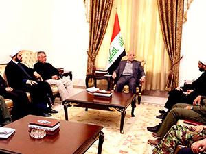 Irak Başbakanı İbadi Haşdi Şabi liderleriyle görüştü