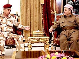 Barzani Genel Kurmay Başkanı'nı kabul etti