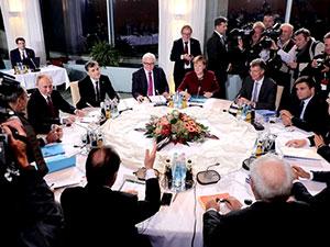 Dört lider Berlin'de buluştu