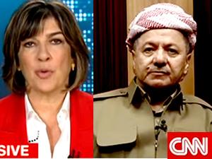 Mesud Barzani CNN International'a konuştu